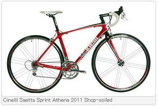 Cinelli Saetta Sprint Athena 2011 Shop-soiled