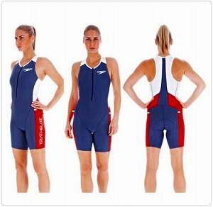 Speedo Ladies LZR Racer Tri Comp Suit